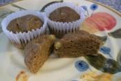 Banana Buckwheat Chia Muffins