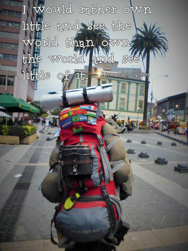 Life Lessons I Learned While Traveling-Backpacking