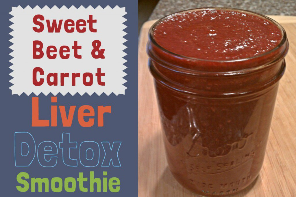 Sweet Beet and Carrot Detox Smoothie