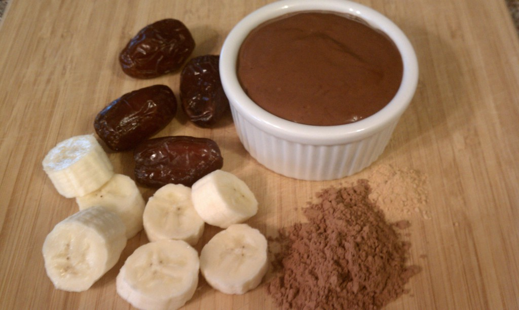 Healthy Dark Chocolate Pudding-Nutribullet Style