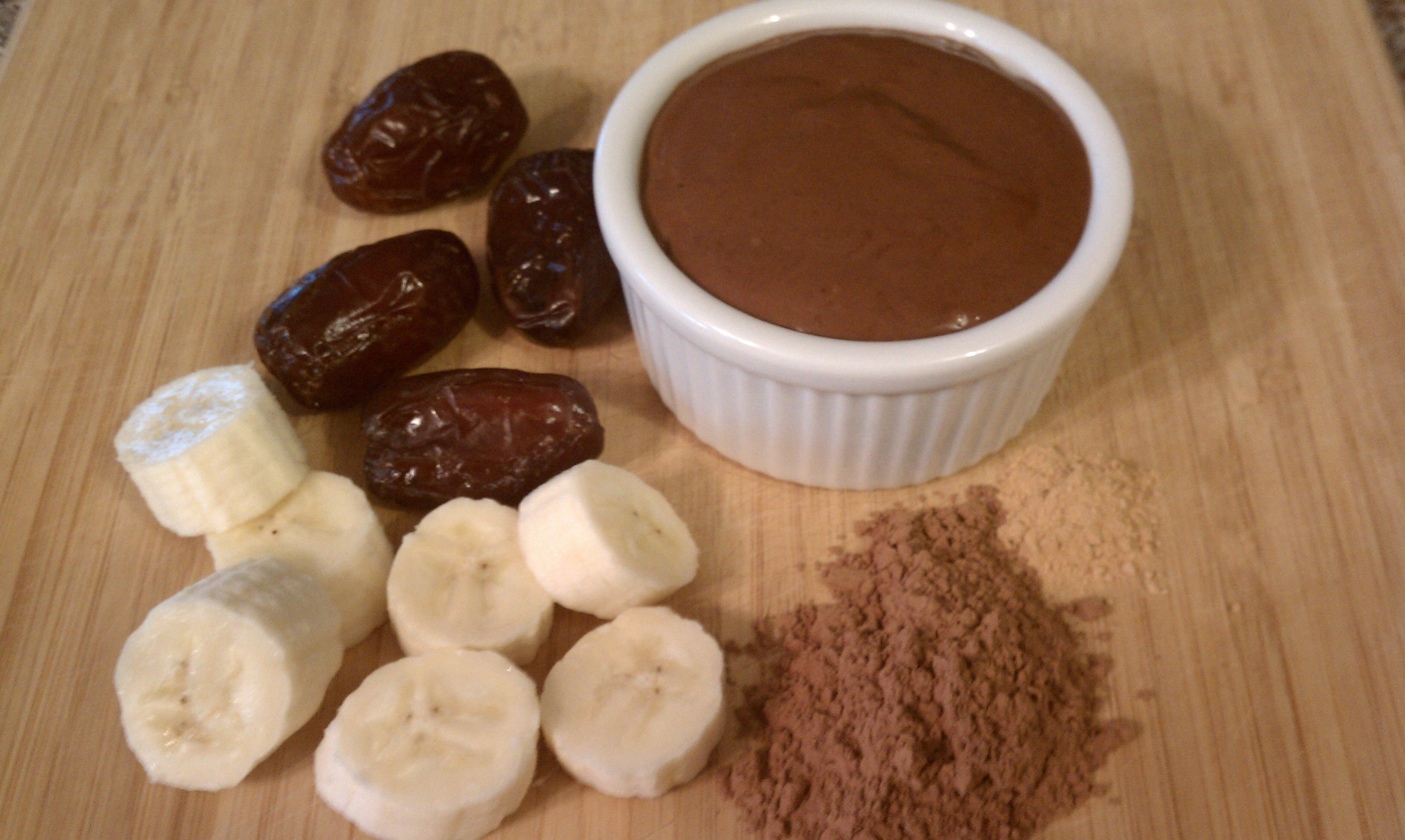 Healthy Dark Chocolate Pudding – Nutribullet Style