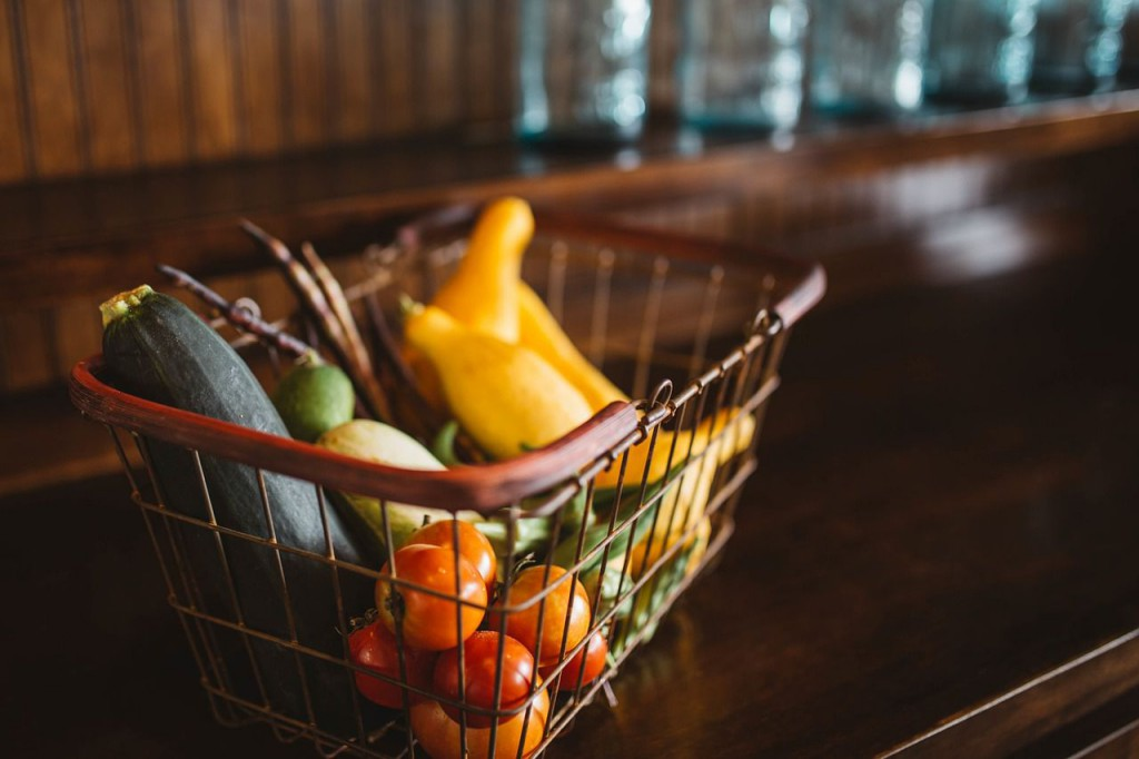 Starting a Whole Foods Diet-Shopping Basket