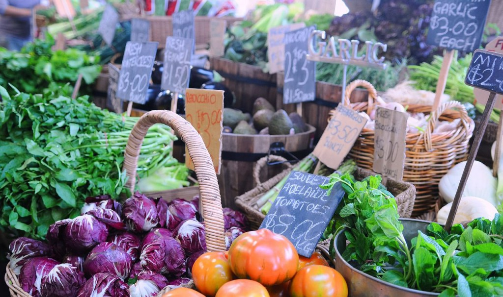 Starting a Whole Foods Diet-Farmers Market