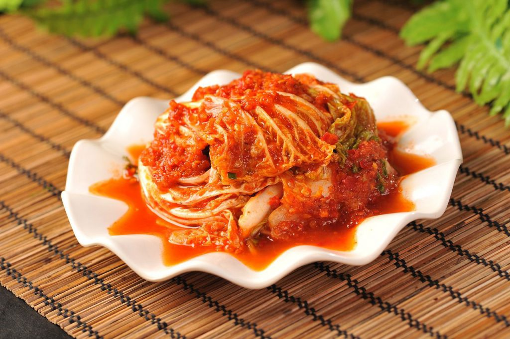 Fermented Foods for Gut Health-kimchi