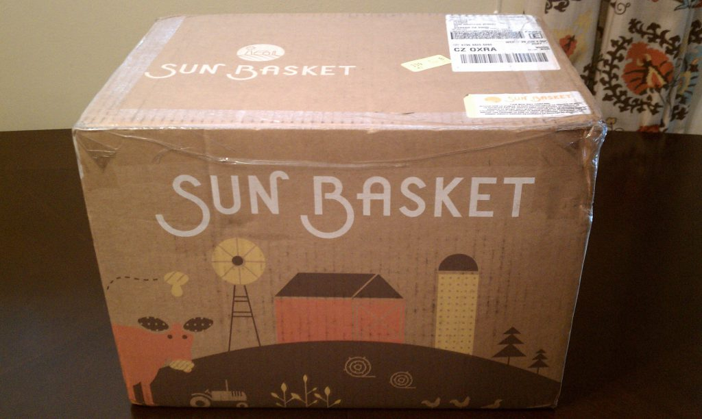 Sun Basket Review-Delivery