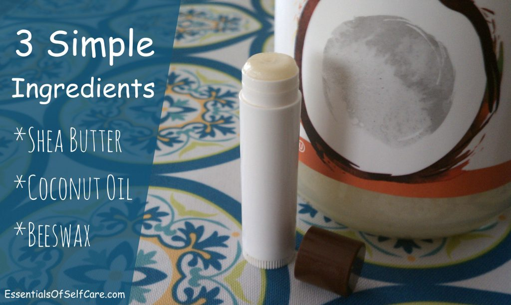 DIY Shea Butter Lip Balm