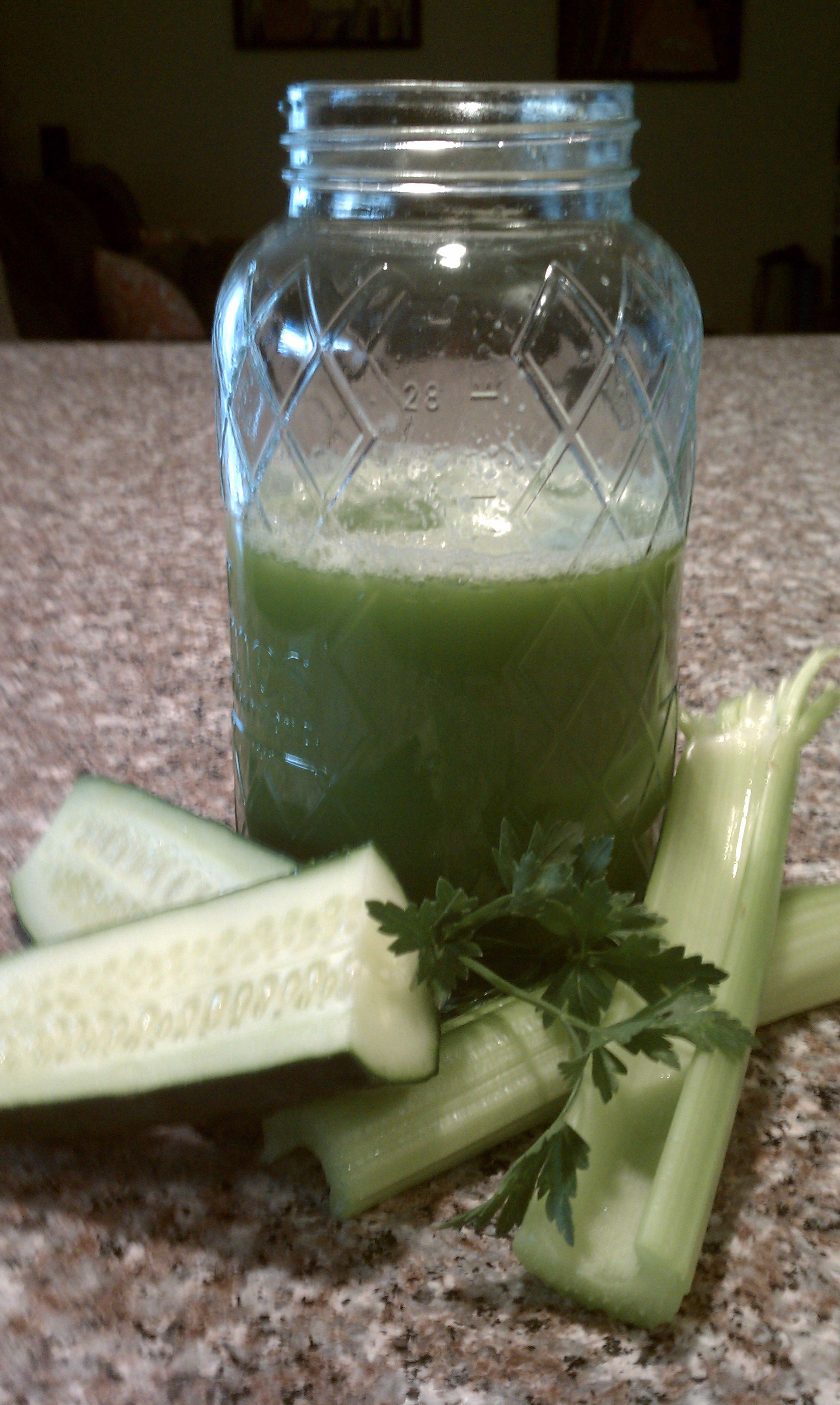 Delightfully Detoxifying Green Juice
