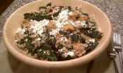 Warm Roasted Butternut Squash Quinoa Kale Salad