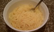The Best Way to Cook Spaghetti Squash-Strands