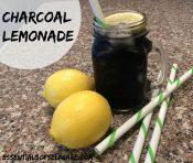 Black Charcoal Lemonade