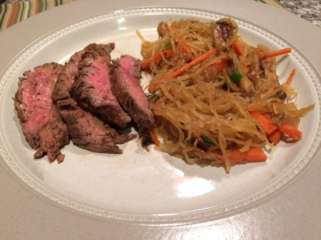 Real Plans Review-Flank Steak