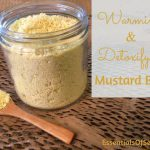 Homemade Warming & Detoxifying Mustard Bath