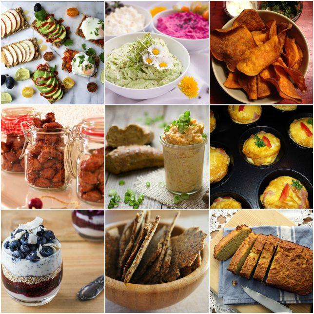 Easy and Healthy Snacks-Recipes