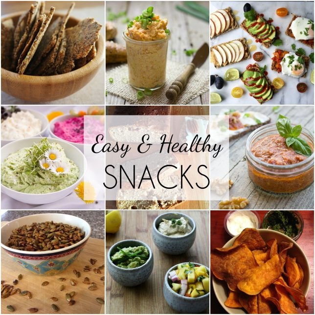 Easy and Healthy Snacks-Savory