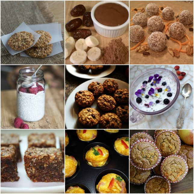 Easy and Healthy Snacks-Sweet
