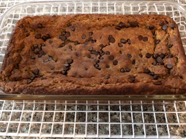 Chocolate Chip Banana Bread (Gluten-Free)