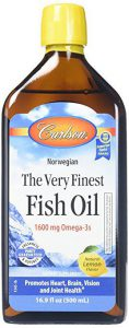 Best Omega 3 Supplements-Carlson Labs Liquid Fish Oil