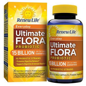 Top Rated Probiotics-Renew Life Ultimate Flora
