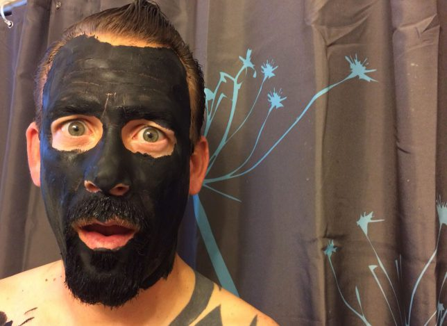 Homemade Face Mask Recipe-Charcoal