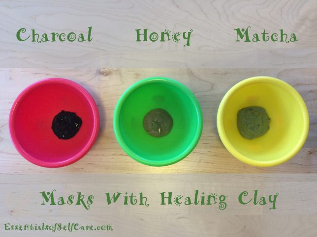 Homemade Face Mask With Clay
