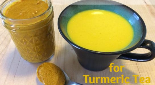 Golden Milk Paste Recipe (aka Turmeric Tea)