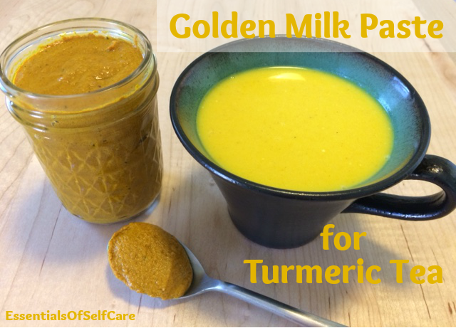 Golden Milk Paste Recipe (aka Turmeric Tea)