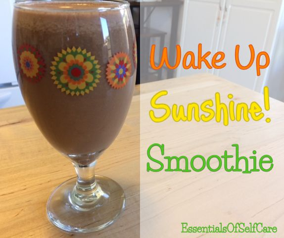 Need a Boost? Say YES to Mornings With a Wake Up Sunshine! Smoothie