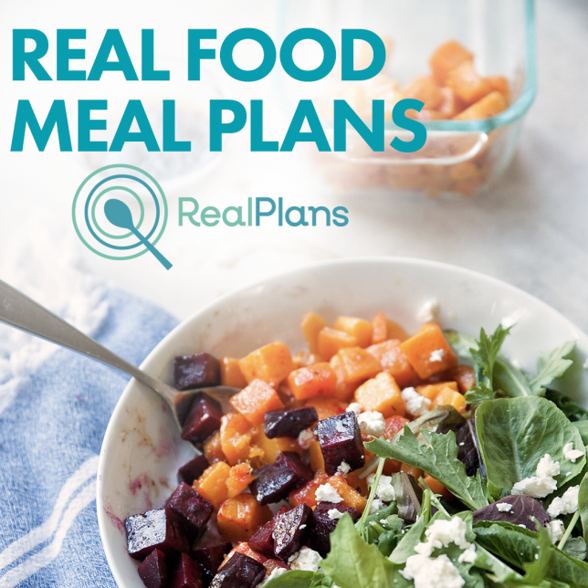 Real Food-Real Plans