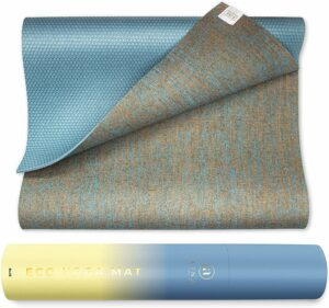 Eco-Organic Yoga Mat With Carrying Strap
