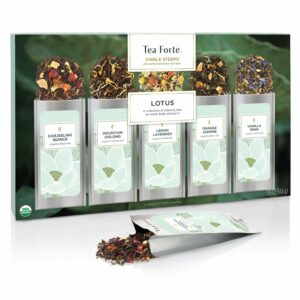 Tea Forte Single Steeps-Lotus