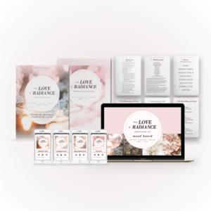 Love + Radiance Meditation Kit