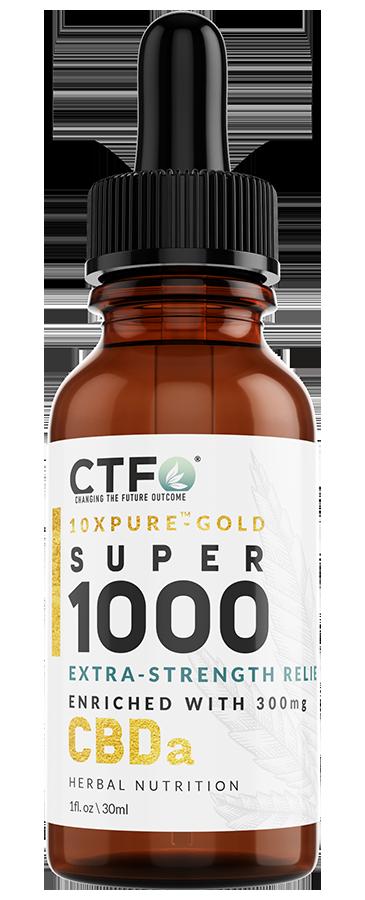 10xPURE Gold Super 1000